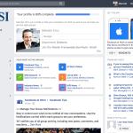 Perfil de nosso CEO na plataforma Facebook at Work